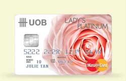 Uob Lady S Card